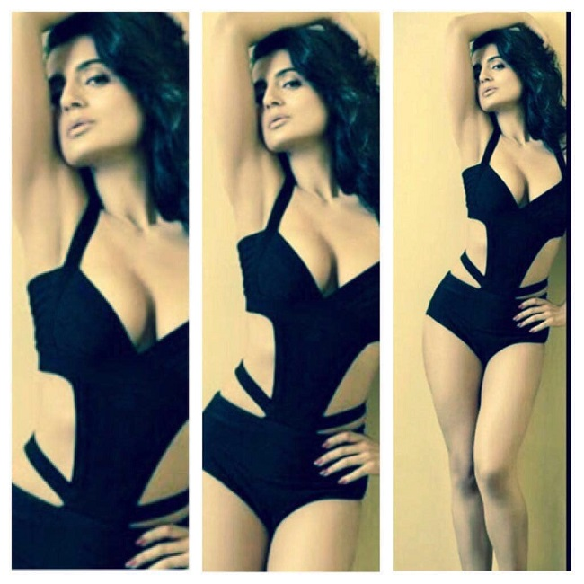 Ameesha Patel Shared Hot Bold Pic on Instagram
