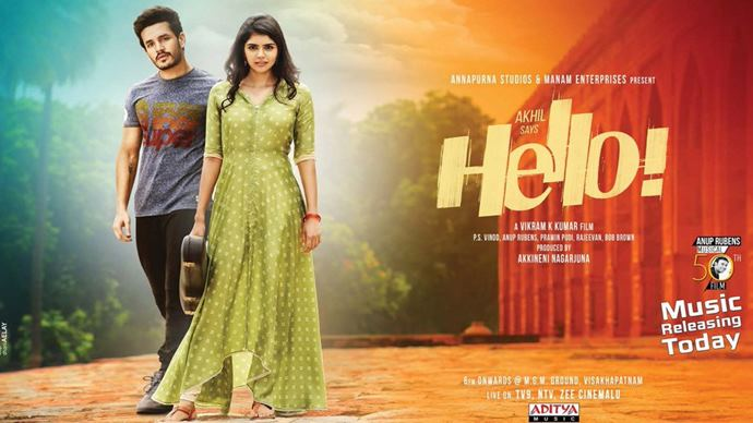 Watch HELLO Movie Audio Launch Live Streaming Online