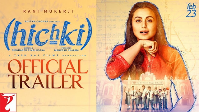 Hichki Movie Official Trailer
