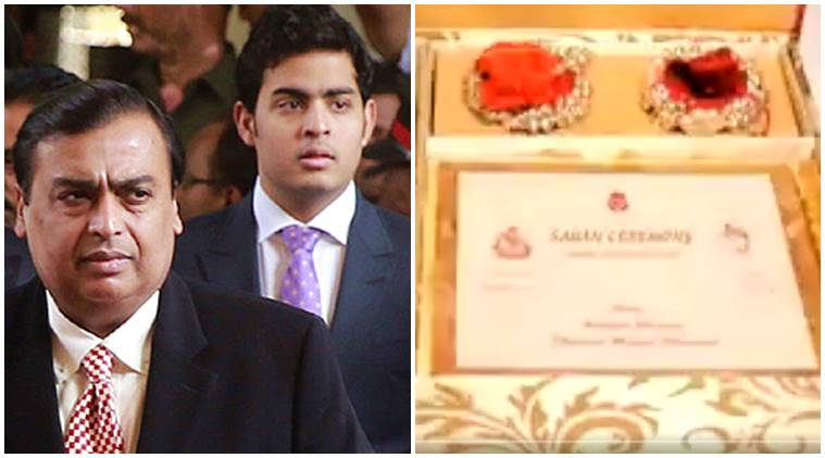 Mukesh Ambani son Akash Ambani Wedding Card Goes Viral