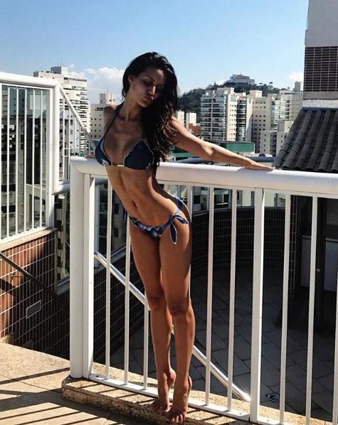 Larissa Bonesi Extremely HOT in Two Piece Bikini