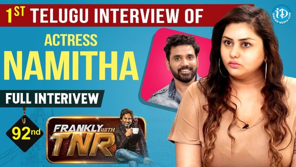 Actress Namitha and Veera Exclusive Interview