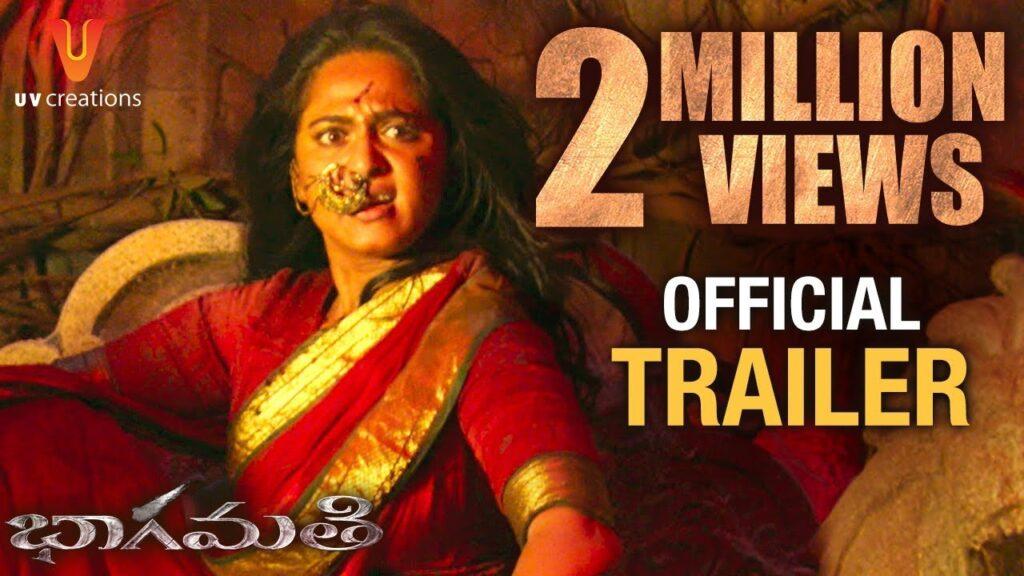 Anushka Shetty Bhaagamathie Telugu Trailer Review