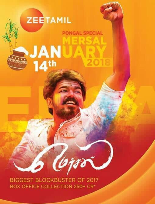 Mersal World Television Premiere on Zee Tamil
