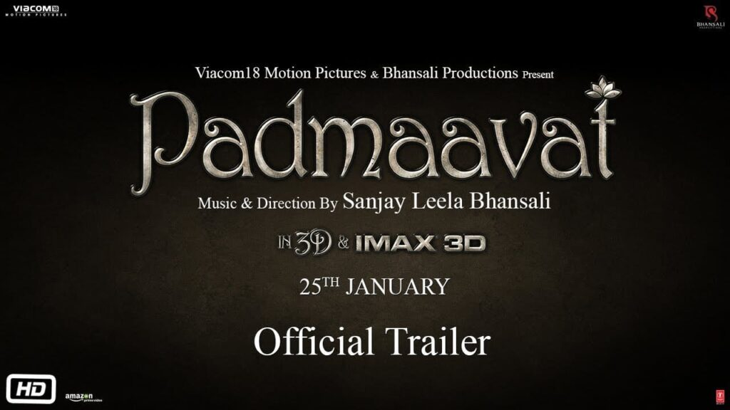 Padmaavat Official Trailer