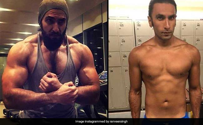 Ranveer Singh Body Transformation From Padmaavat To Gully Boy