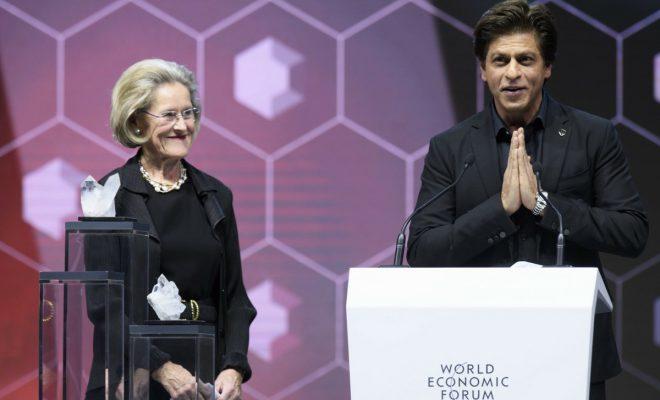 Shah Rukh Khan Honoured at 24th Annual Crystal Awards