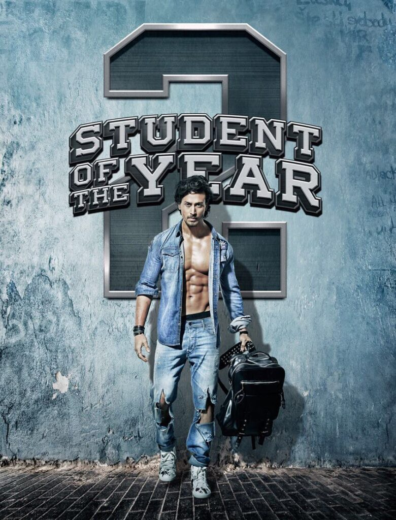 Tiger Shroff's Student of The Year 2 Movie First Poster