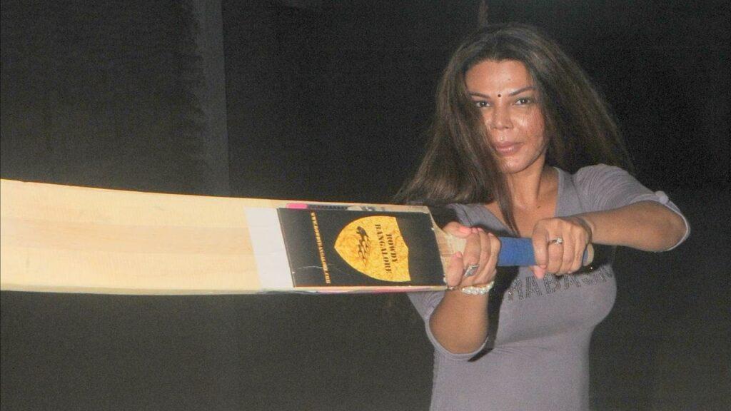 Actress Rakhi Sawant to Play Box Cricket League to Encourage Women