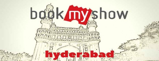 Hyderabad Tops in BookMyShow Movie Tickets Bookings Online