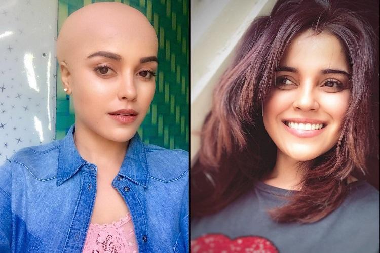 Pia Bajpai goes bald for Abhiyum Anuvum Movie