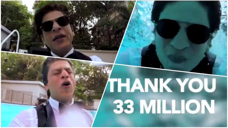 Shah Rukh Khan Crosses 33 Million+ Twitter Followers