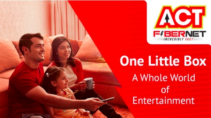 ACT Fibernet Launches ACTTV+ Streaming Device in India