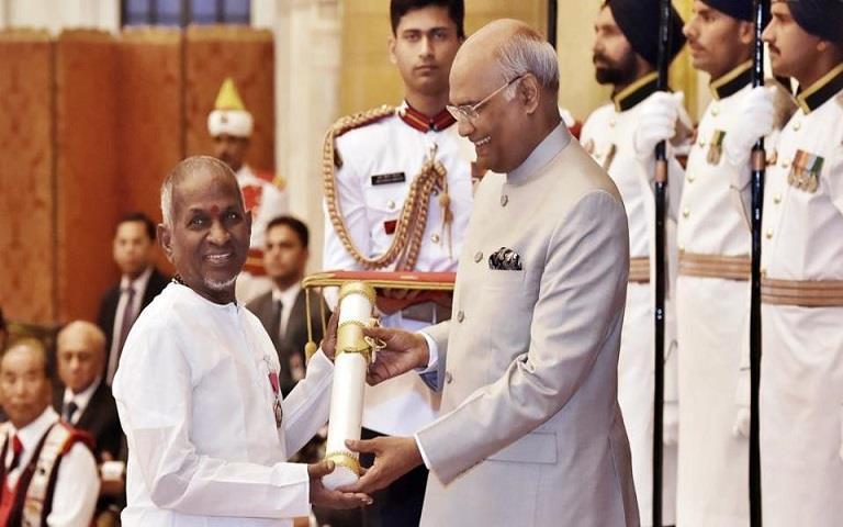 Ilaiyaraaja honored with Padma Vibhushan Award