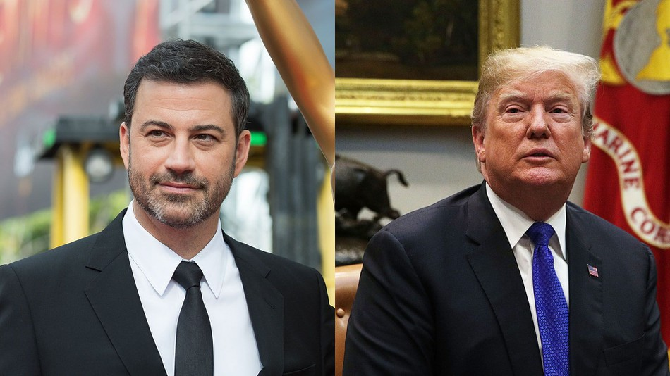 Jimmy Kimmel Calls Donald Trump lowest Rated President in History