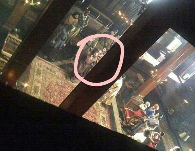 Megastar Chiranjeevi Sye Raa Leaked Photos Goes Viral on Social Media