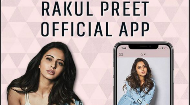 Rakul Preet Singh Launches Her Own Official App