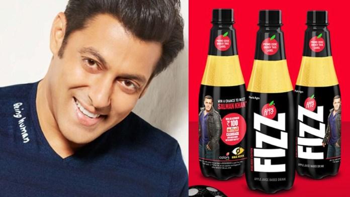 Salman Khan Becomes New Brand Ambassador for Appy Fizz