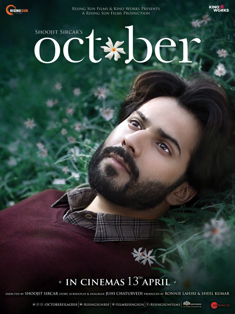 October Movie First Look Poster